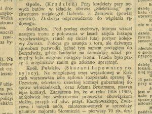 Samobójstwo w Bolesławichach 1912 r.