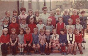 Dzieci z przedszkola ZPS Karolina w Jaworzynie Śląskiej, grupa III, 1969 rok